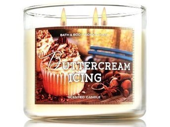 Bath&Body Works 3-wick Candle doftljus BUTTERCREAM ICING *LIMITED*