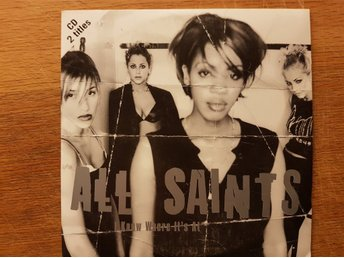 ALL SAINTS – I Know Where It's At CD-singel 1997 Nyskick!