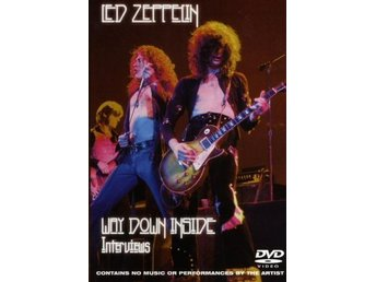 Led Zeppelin (Page/Plant) -Way down inside dvd STILL SEALED
