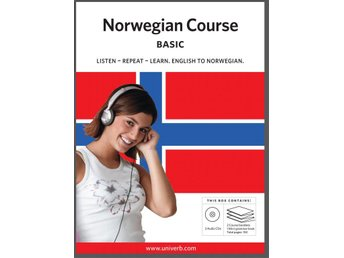 Norwegian basic course CD