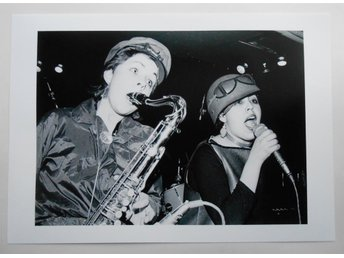 X-RAY SPEX - 'Live at the Roxy Club', London 1977 - Stewart - *A4*-print NME!