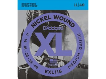 Dáddario Nickel Wound  EXL 115