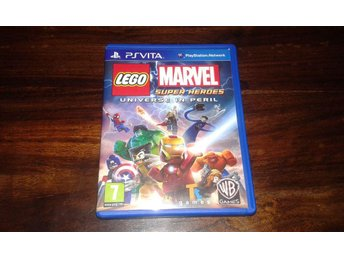 LEGO Marvel Super Heroes Universe in Peril, PS Vita, Komplett, Fint skick!