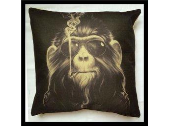Kuddfodral Monkey Brown - Skänninge - Kuddfodral Monkey Brown - Skänninge