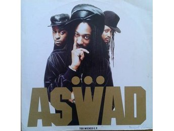 "Aswad title* Too Wicked E.P.* 90's Hip-Hop Reggae 12"" UK"