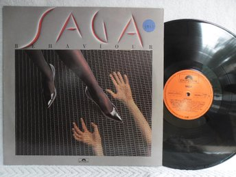 SAGA - BEHAVIOUR - POLYDOR 825 840-1