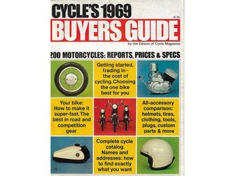 BUYERS GUIDE CYCLES 1969
