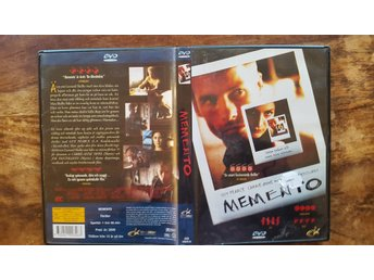 Memento / Thriller 2000 / DVD /  Guy Pierce / Carrie-Anne Moss