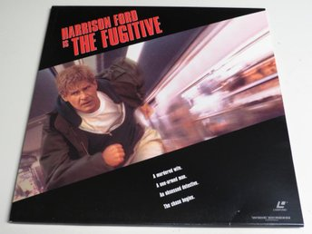 THE FUGITIVE (Laserdisc) Harrison Ford