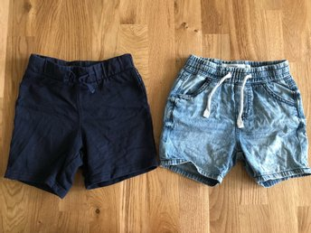 2 st shorts POP & Lindex strl 92