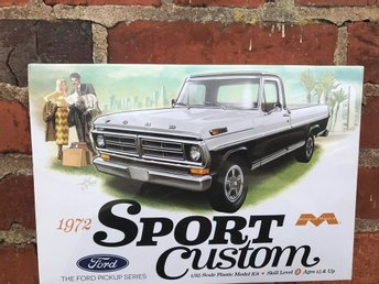 1972 Sport Custom, The Ford Pickup series i skala 1/25