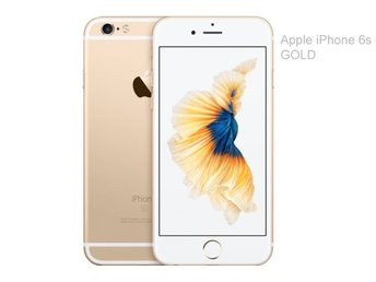 Apple iPhone 6s 32GB, guld, gold, RIMLIGT SKICK
