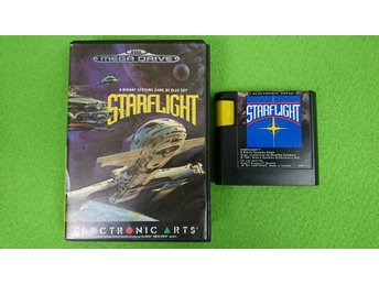 StarFlight Sega Megadrive Star Flight
