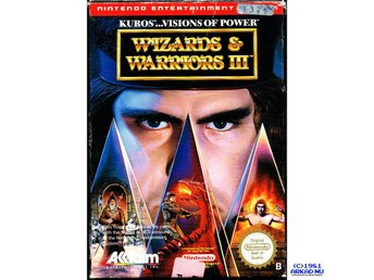 WIZARD & WARRIORS III KUROS VISIONS OF POWER NES SCN