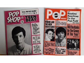 POP Weekly & POP Shop/ Teen Beat