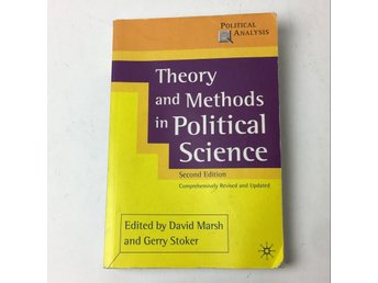 Bok, Theory and methods in political science, DAVID MARSH/GERRY STOKER