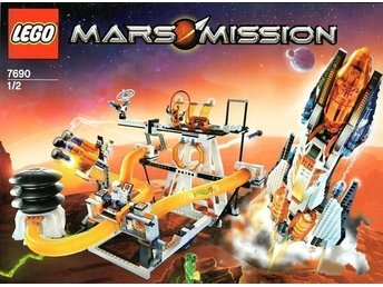 LEGO Mars Mission 7690 - PUMP FIRE + TRANSPORT SYSTEM
