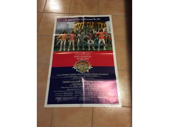 Bee Gees , Beatles- Sergant Pepper Usa bio poster usa -Alice cooper , Aerosmith