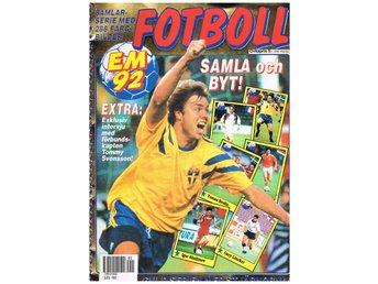 Semic samlaralbum 1992 fotboll EM i Sverige ej Alfa Alfabilder  Rekordmagasinet 1563f6ed0af98