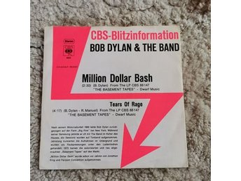 Bob Dylan, 2 st vinylsinglar, Million Dollar Bash och Mi Corazon