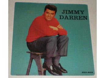 Jimmy Darren OMSLAG EP Let there be love 1960