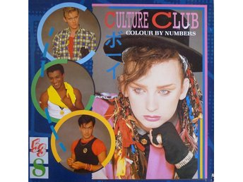 LP - Culture Club - Colour By Numbers