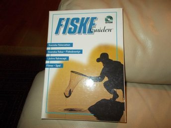 Fiske Guiden Svensk CD ROM Mac OS Classic och Windows