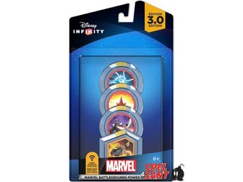 Disney Infinity 3.0 Marvel Battlegrounds Power Disc (4-Pack)