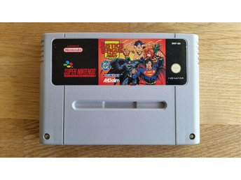 SNES Justice League Task Force