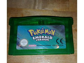 Pokémon Emerald GBA EUR Pokemon