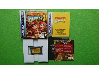 Donkey Kong Country 2 Komplett MYCKET FINT SKICK Gameboy Advance GBA