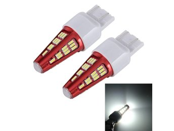 Led lampa T20 7443 10W 800LM 6000K 48 SMD-4014 Canbus - 2Pack