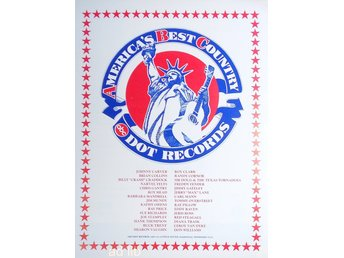 DOT RECORDS, ABC - AMERICA'S BEST COUNTRY, TIDNINGSANNONS 1976