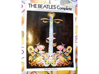 THE BEATLES COMPLETE Piano Vocal/Easy Organ