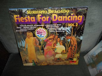 Roberto Delgado - Fiesta For Dancing Vol 2 (LP) EX/VG+