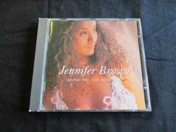 JENNIFER BROWN - GIVING YOU THE BEST (CD)