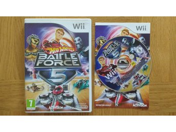 Nintendo Wii: Hot Wheels Battle Force 5