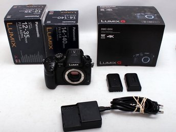 Lumix DMC-GH4, objektiv 12-35mm/2,8 & 12-140mm/4,8-5,8