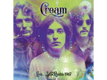 Cream: Live... Stockholm 1967 (Green/Ltd) (Vinyl LP)