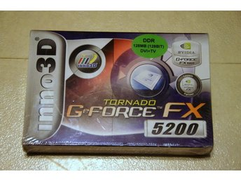 TORNADO GeFORCE tmFX5200 128MB  DVI+TV