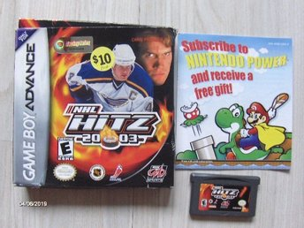 Nintendo GameBoy Advance - NHL Hitz 2003  Spel