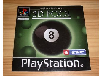 Manual PS: 3D Pool