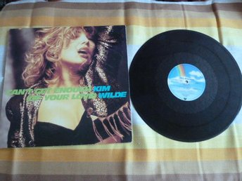 KIM WILDE, CAN´T GET ENOUGH OF YOUR LOVE,  LP,  LP-SKIVA