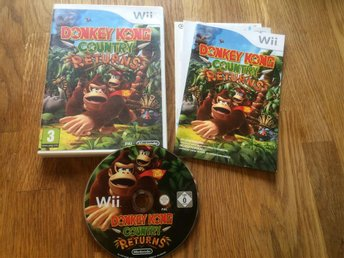 Donkey kong country returns Svensksåld