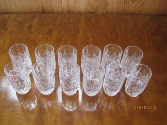 12 st shot/snapsglas Kuusi Iittala Design Jorma Vennola 80-TAL - Smedjebacken - 12 st shot/snapsglas Kuusi Iittala Design Jorma Vennola 80-TAL - Smedjebacken
