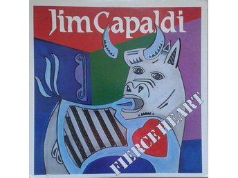Jim Capaldi   titel*  Fierce Heart* Blues Rock, Rock & Roll US LP
