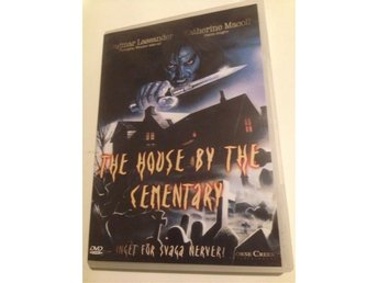 Dvd: the house by the cementary - skräck av lucio fulci
