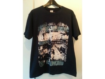 Yellowcard - T-Shirt - Marinblå - Large (ny)