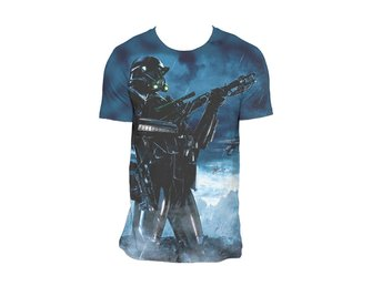 STAR WARS ROGUE ONE DEATH POSE (DYE SUB) T-Shirt - Large