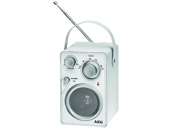 AEG Design radio vit MR 4144